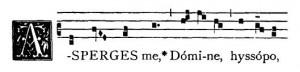 Incipit gregoriano