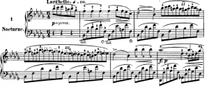 Chopin, Notturno