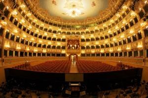 Teatro La Fenice, interno