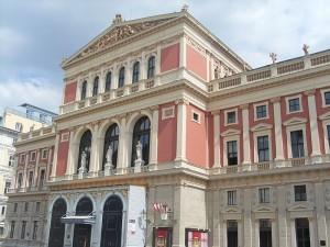 Musikverein Vienna esterno