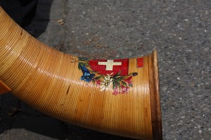 Alphorn- dettaglio della campana