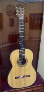la chitarra di Segovia