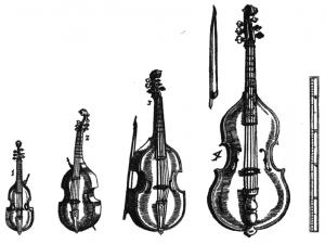 famiglia della viola da gamba
