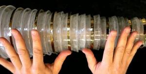 glassharmonica, particolare