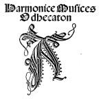 harmonicae musicae odhecaton